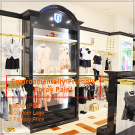 Китай clothing store display design/clothing display racks завод